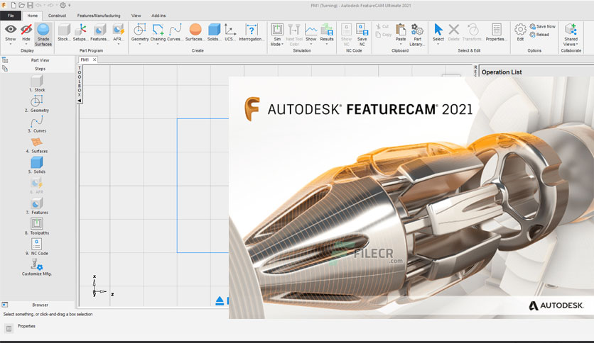 Autodesk FeatureCAM Ultimate 2021.0.1