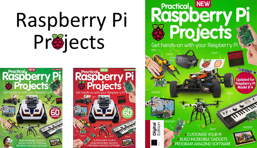 Practical Raspberry Pi Projects – 5th Edition 2019