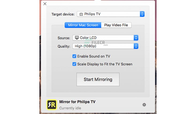 Mirror for Philips TV 2.6