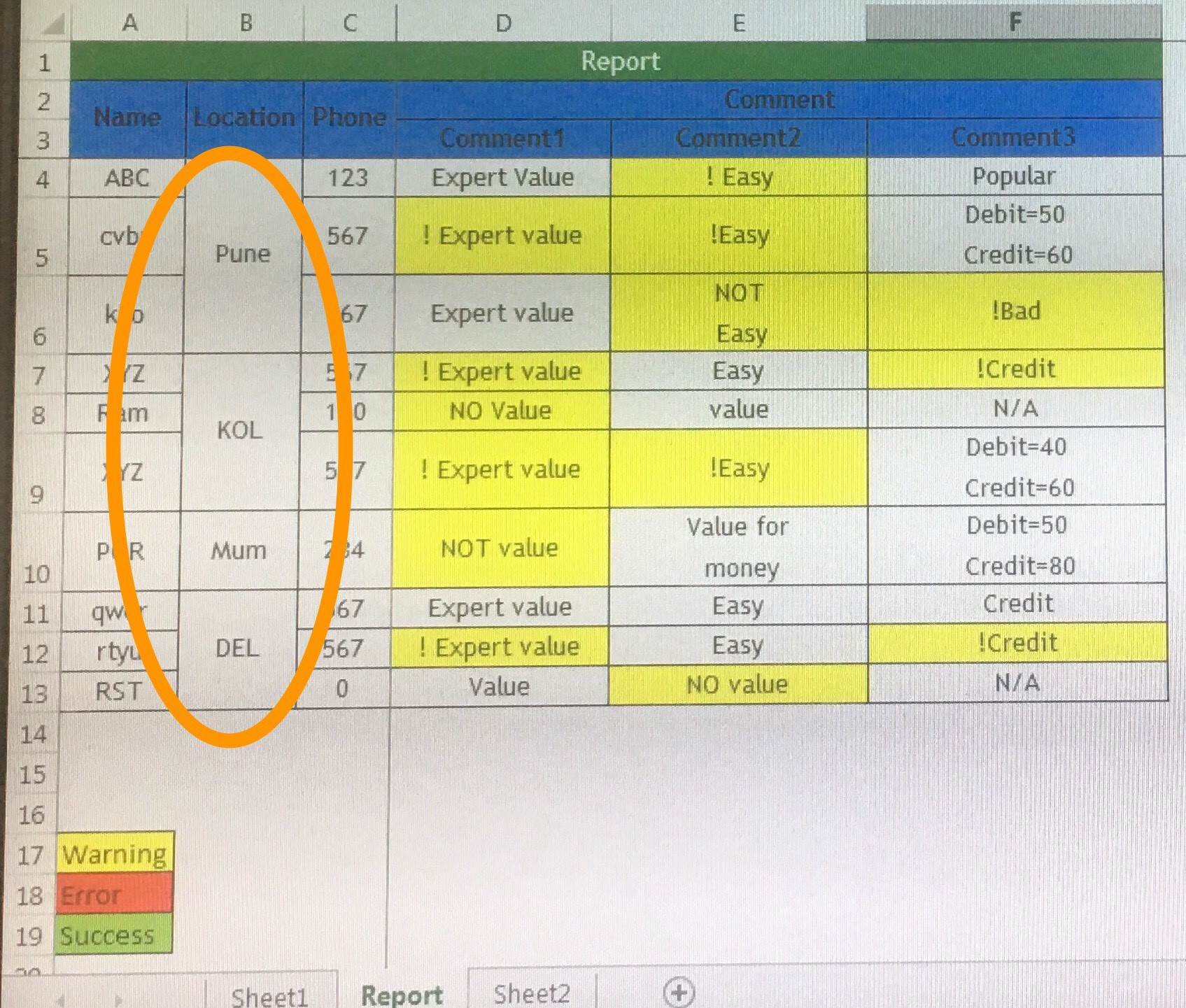 Merge Cell On Same Value In Excel By Vbscript And Email