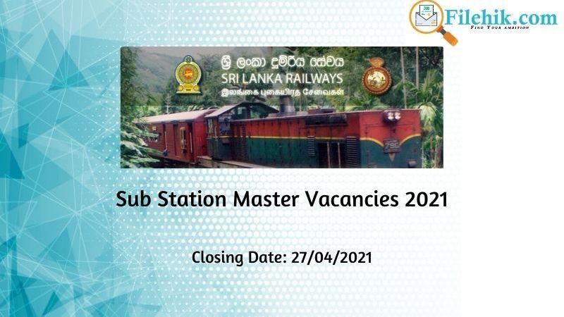 Sub Station Master