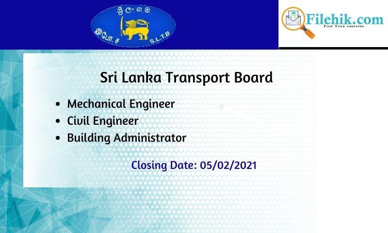 Mechanical Engineer, Civil Engineer, Building Administrator