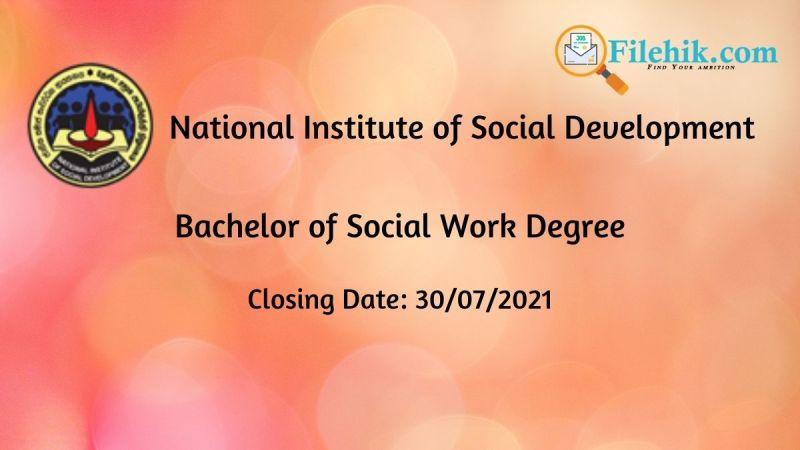 Bachelor of Social Work Degree