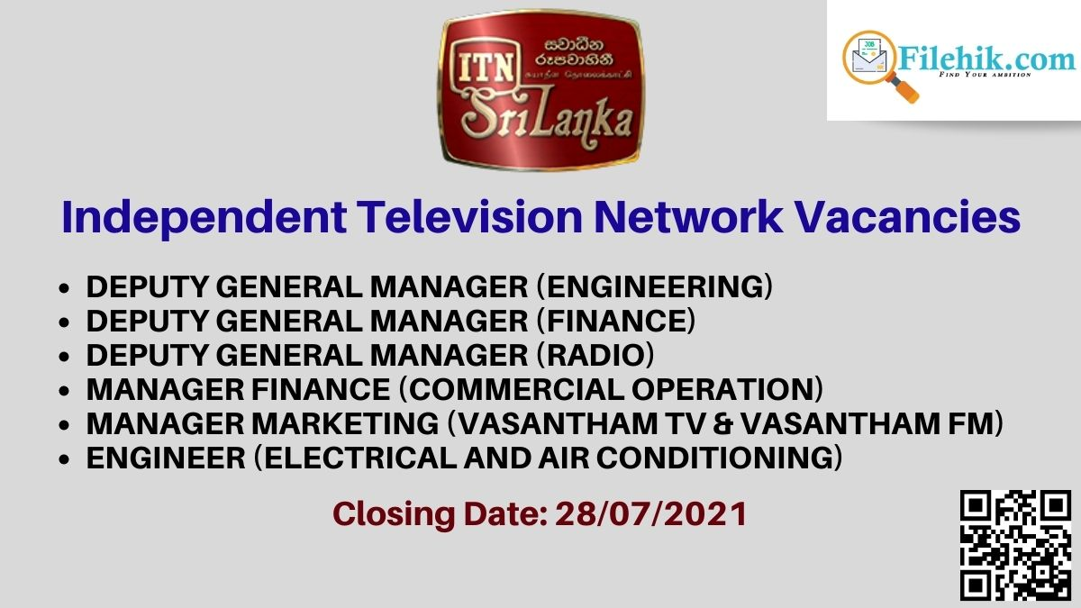 Independent Television Network (Itn) Career Opportunities 2021