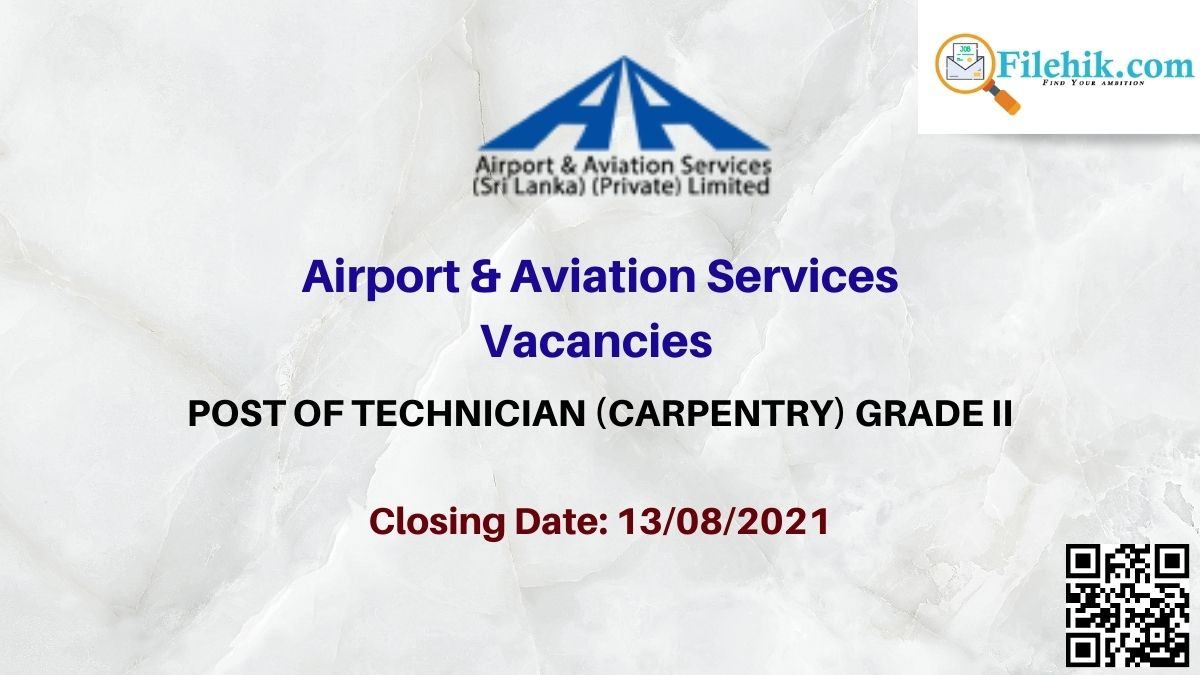 Airport & Aviation Services Career Opportunities 2021