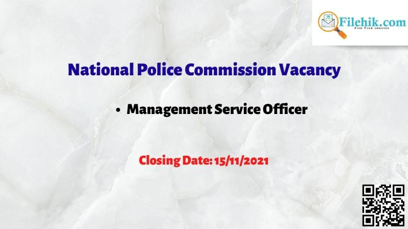 National Police Commission Vacancy