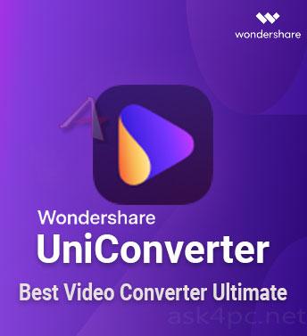 Wondershare UniConverter 12.6.3.1 Crack 2021 Full Registration Code [License Key]