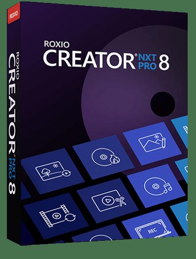 Roxio Creator NXT Pro 8 2021 v21.0.69.0 SP2 Crack Free Download