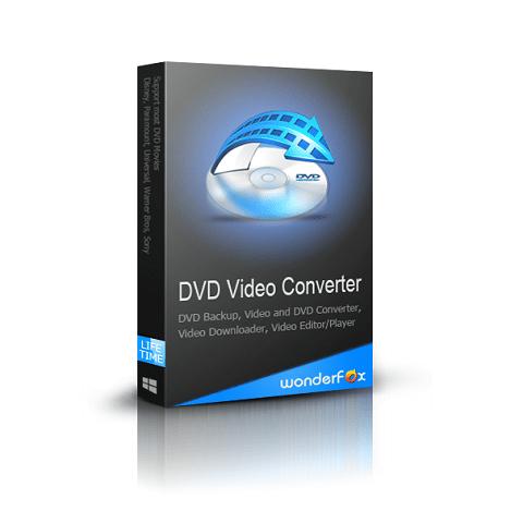 WonderFox DVD Video Converter Crack v25.5 With Serial Code + License Key 2021