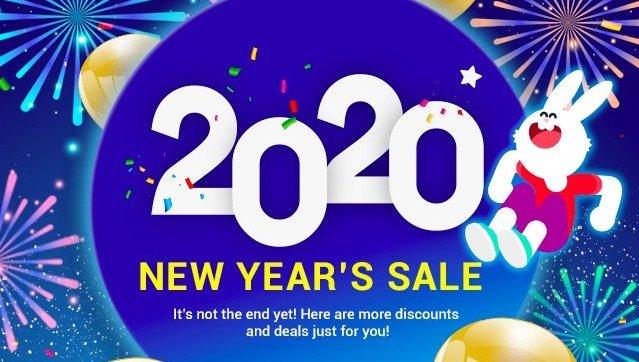 Takefile.link Premium New Year Sale 2020