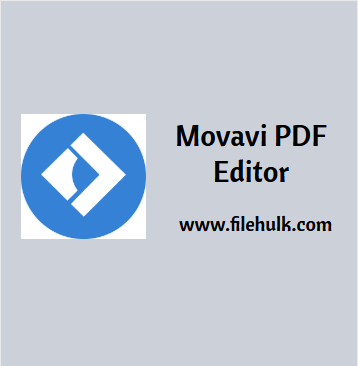 Movavi PDF Editor For Mac Free Download