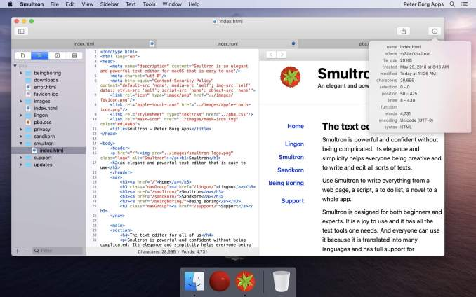 smultron-text editor for mac