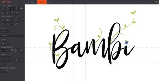 free font editing software