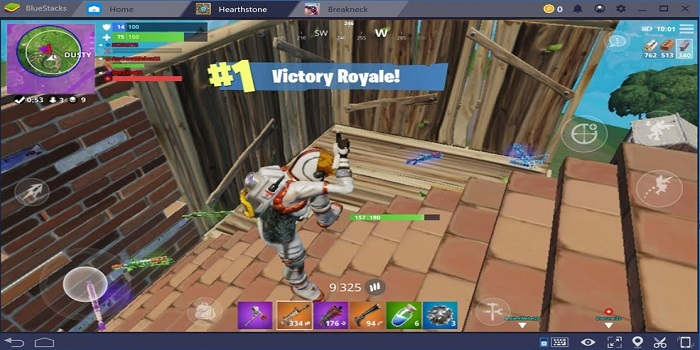 Fortnite Mobile on PC with BlueStacks