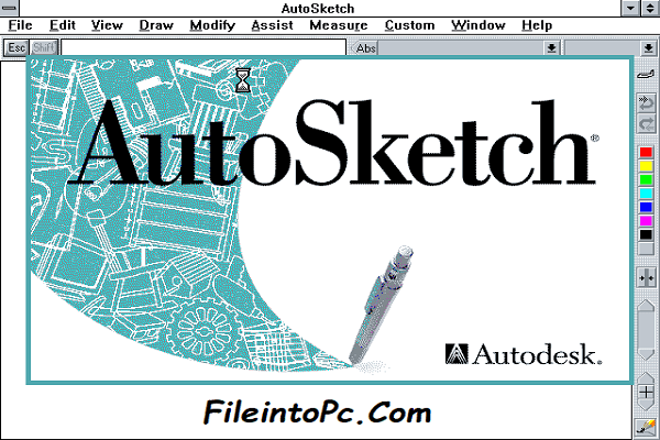 Autodesk AutoSketch 10 Free Download Full Version
