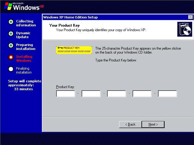 windows xp lifetime activation
