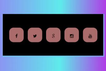 Social Icon Design