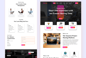 FileZone Bootstrap 5 template