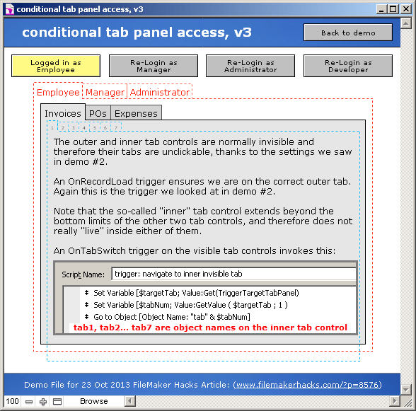 Conditional Tab Panel Access – FileMakerHacks