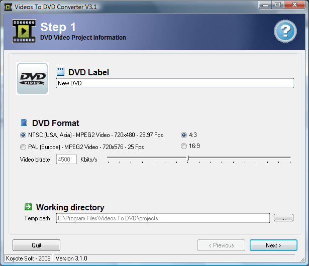 koyote-videos-to-dvd-converter