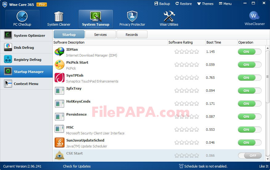 Wise Care 365 Pro 5.1.8 Full Version