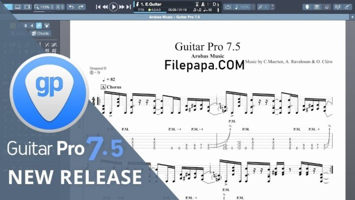 Guitar Pro 7.5 Crack + Soundbank Free Download