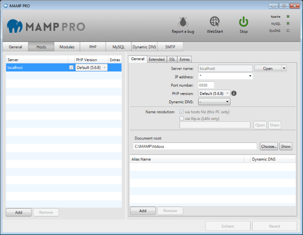 MAMP & MAMP PRO Crack Free Download