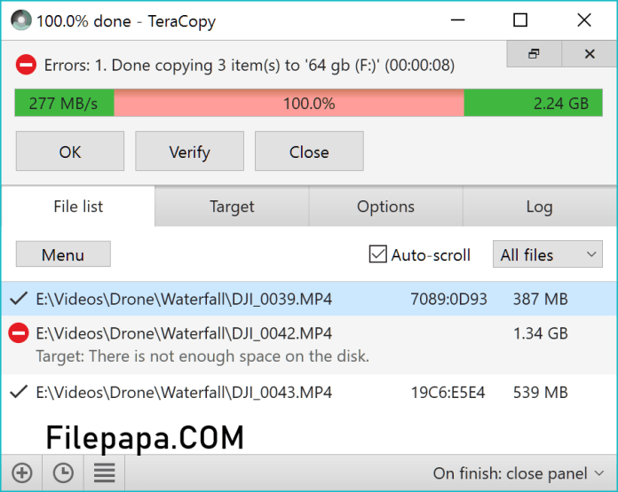 TeraCopy Pro 3.3 Crack Full Version