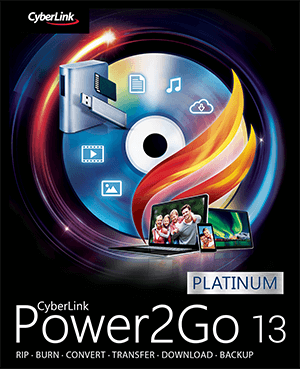 CyberLink Power2Go Platinum 13.0.0718.0 Full Crack