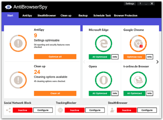 Abelssoft AntiBrowserSpy Pro 2019.267 Full Crack