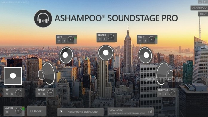 Ashampoo Soundstage Pro 1.0.2 With Crack [Full]