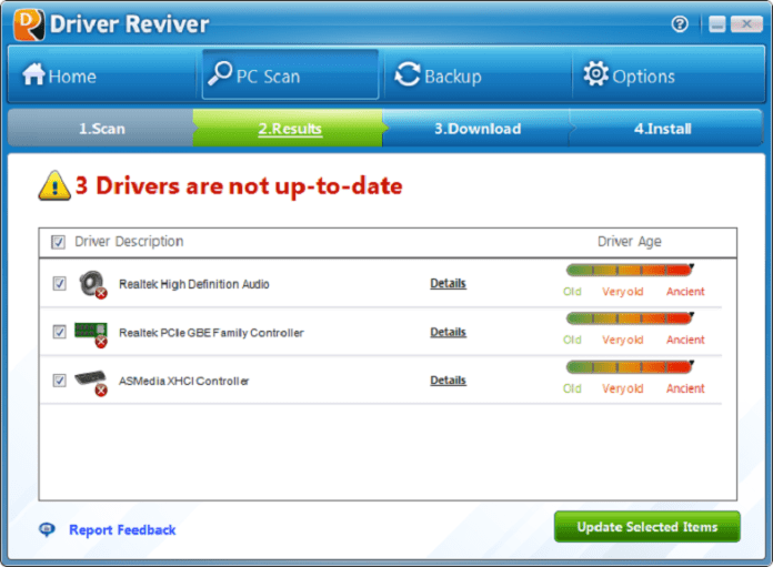 ReviverSoft Driver Reviver 5.33.2.6 Crack + Serial Key
