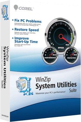 WinZip System Utilities Suite key