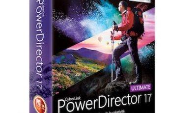 CyberLink PowerDirector Ultimate Crack 18.0.2405.0 [ Full ]