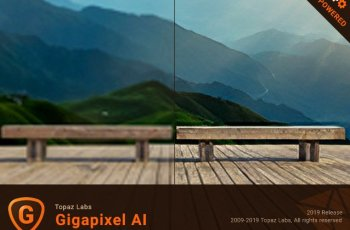 Topaz Gigapixel AI Full Crack 4.4.5 [Latest]