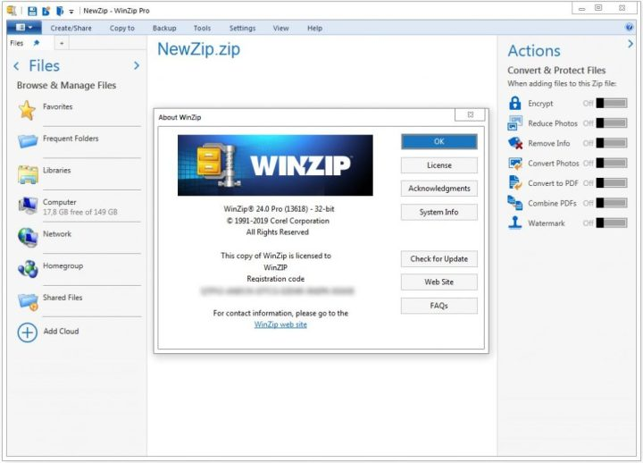 WinZip Pro 24 Crack Version