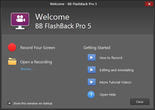 BB FlashBack Pro 5 Full Version