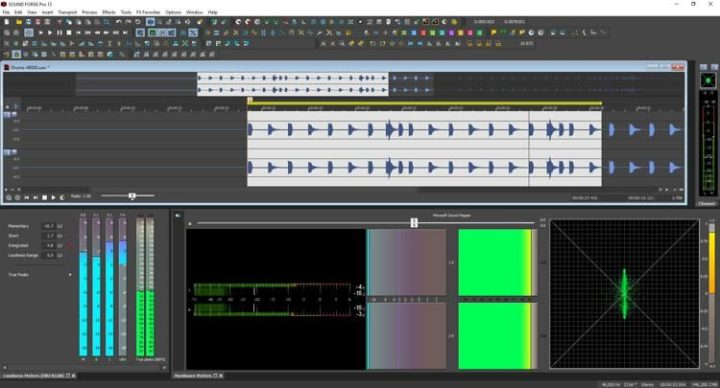 MAGIX SOUND FORGE Pro 13 Full Crack