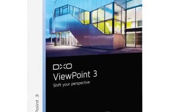 DxO ViewPoint v3.1.15 Build 285 + Crack [Full Download]