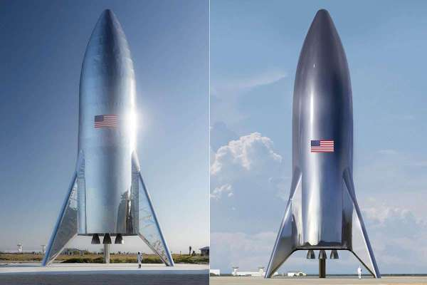 Elon Musk unveils assembled SpaceX Starship and it's glorious