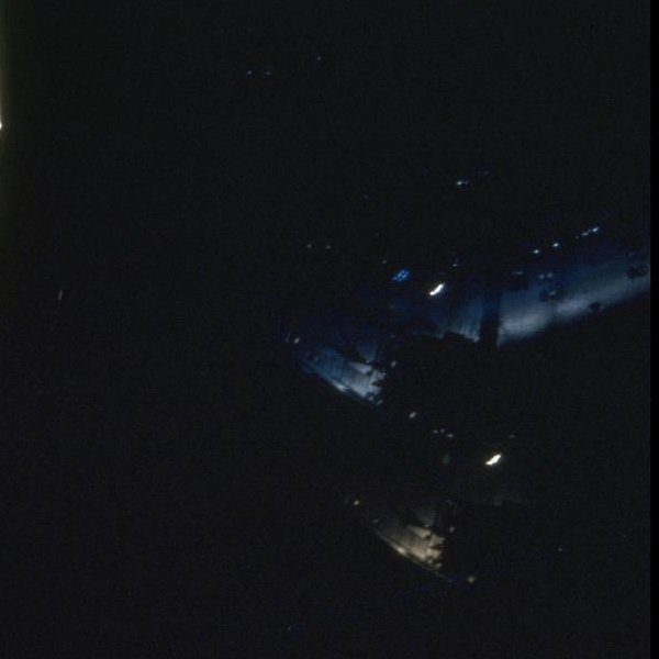 Photo on public NASA server showing UFO near Hubble page 1