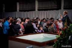 Cientos de personas aceptaron el llamado de Dios cada noche. ©Alfredo Müller