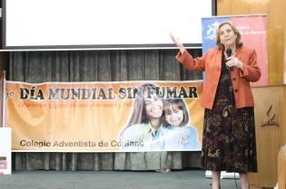 Ministra de Salud dirigiéndose a los presentes. © Misión Norte de Chile
