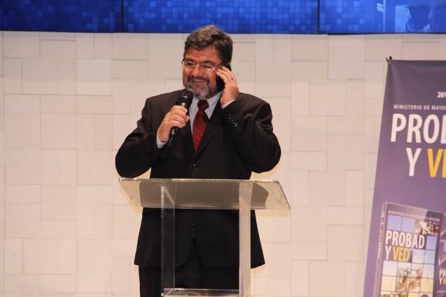 Director técnico de Provad y Ved, Melchi Rodrigues.