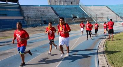 Jóvenes llegan a la final de la carrera