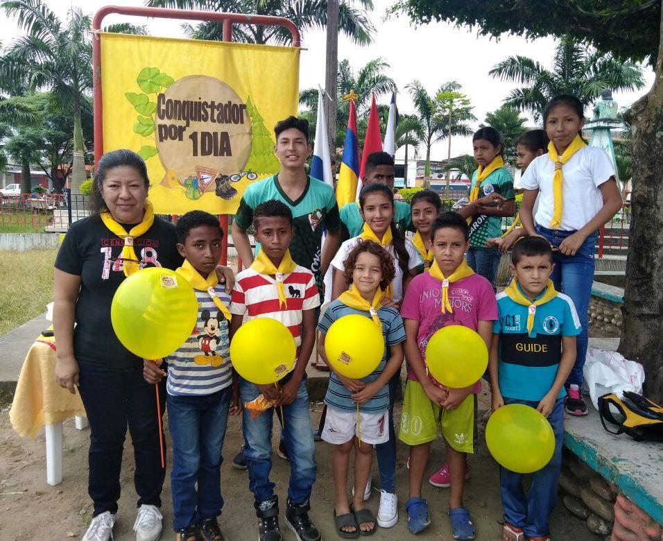 Club de conquistadores Caroné, del distrito la Unión. (Foto: Vanessa Castro y Julia Saucedo)