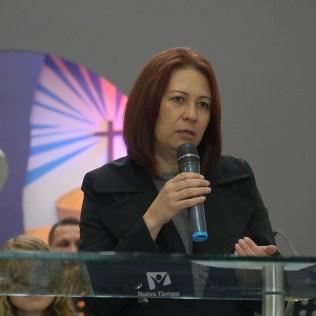 Palabras de Gláucia Korkischko, líder del Ministerio del Niño y del Adolescente de la DSA.