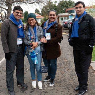 Participantes en el Encuentro Huellas.