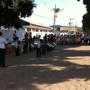 Passeata na cidade de Ipanema