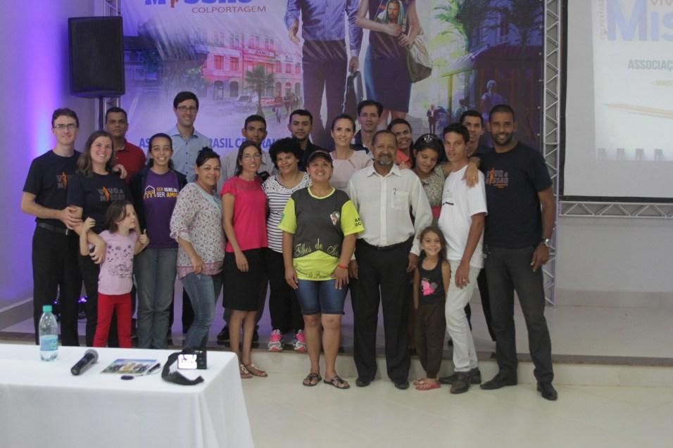 Equipe NFC de Goiânia e Aparecida de Goiânia.